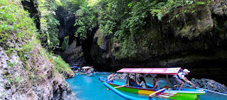Telusur perahu green canyon