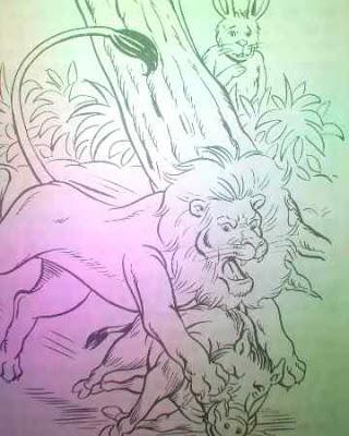 बुद्धिमान खरगोश With Moral Story of Animals Hindi Mein