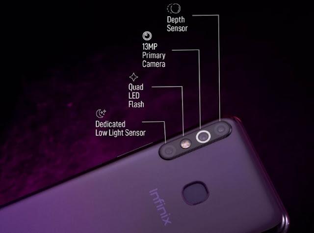 Smartphone Canggih Infinix Hot 8 Resmi Rilis di Indonesia, Ram 4 GB Harga 1 Jutaan