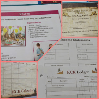 kingdom code student packet collage