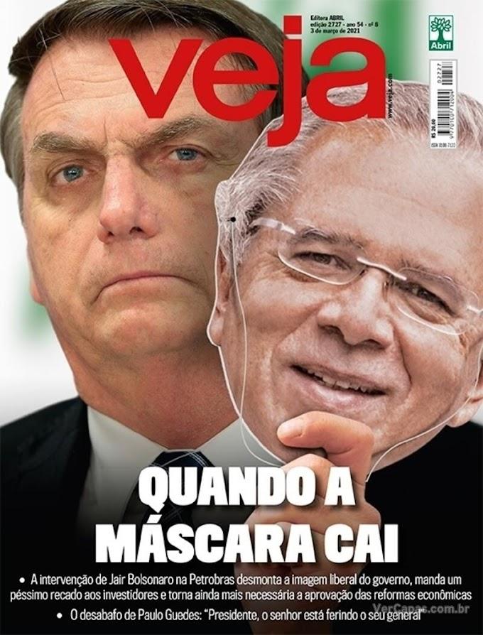 REVISTAS SEMANAIS- Confira destaques de capa das revistas que estão chegando às bancas e residências dos assinantes neste final de semana. Domingo, 28/02/2021