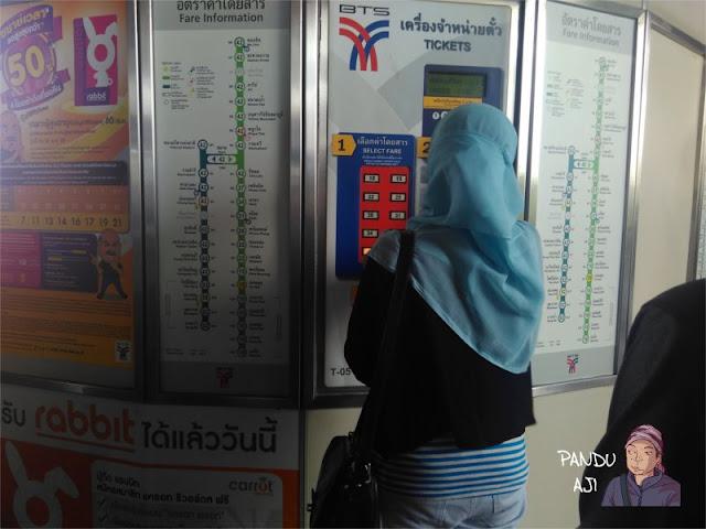 Mesin Tiket BTS Bangkok