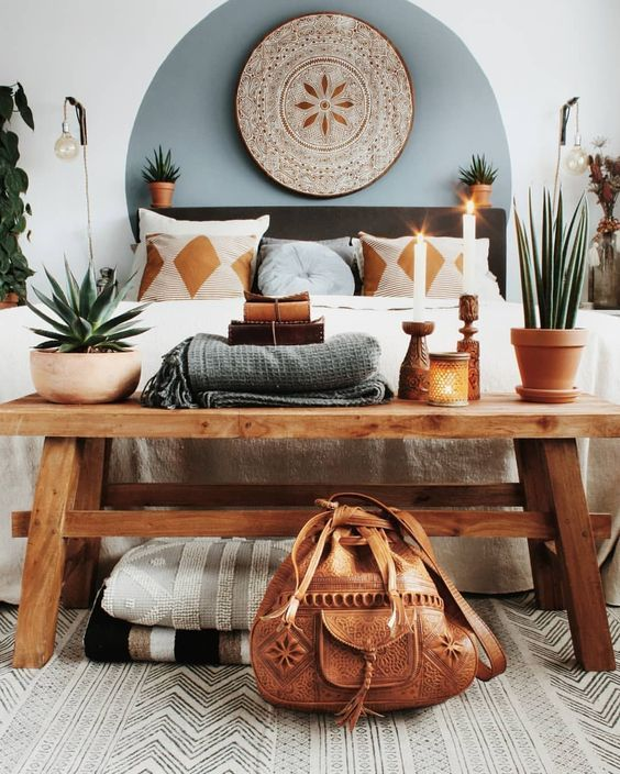 Bohemian interiors for a darling spring
