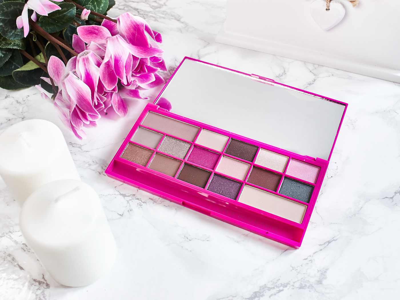 Makeup Revolution Chocolate Love blog opinie