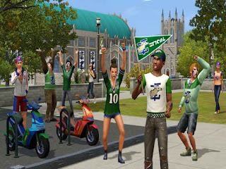 The Sims 3 University Life PC Game Free Download
