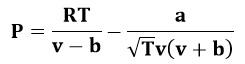 Ecuación de estado de Redlich-Kwong