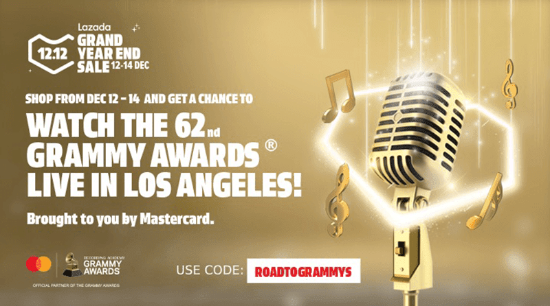 Get a chance to win a trip to the 62nd Grammy Awards