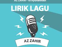 Lirik Lagu Ya Ayuhannabi - Az Zahir