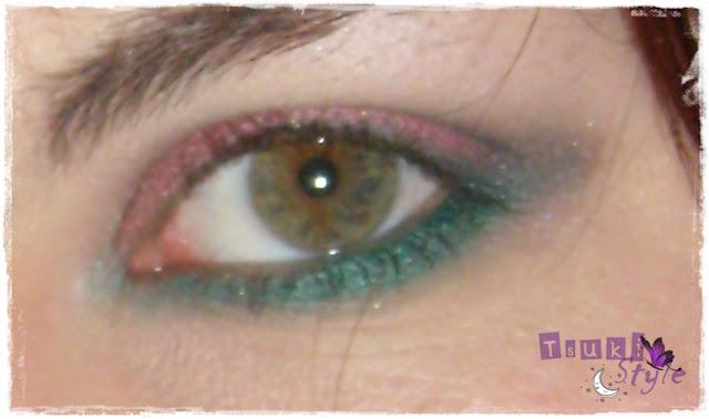 look rojo y verde