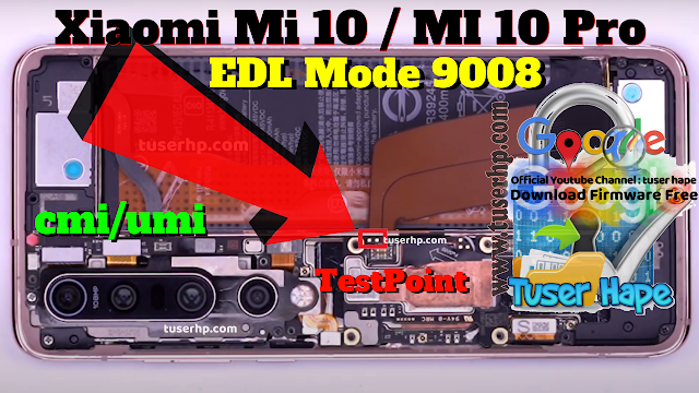 Testpoint Mi10 Pro Edl Mode 9008