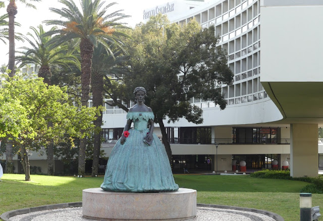 Sissi-Denkmal Madeira am Pestana Casino Park Hotel, Funchal