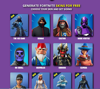 Skin generator.com | It's easy to get free skins fronite from skins generator.com