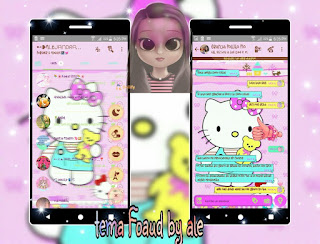 Hello Kitty Theme For YOWhatsApp & Fouad WhatsApp By Alejandra