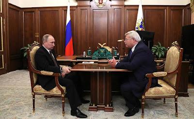 Vladimir Putin, Sergei Zhvachkin.