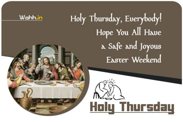 Holy Thursday Wishes Greetings And Prayers