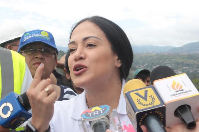 """TÁCHIRA: Laidy Gómez: """"Que tengan el control en el Táchira, no es más que una fábula política""""."""
