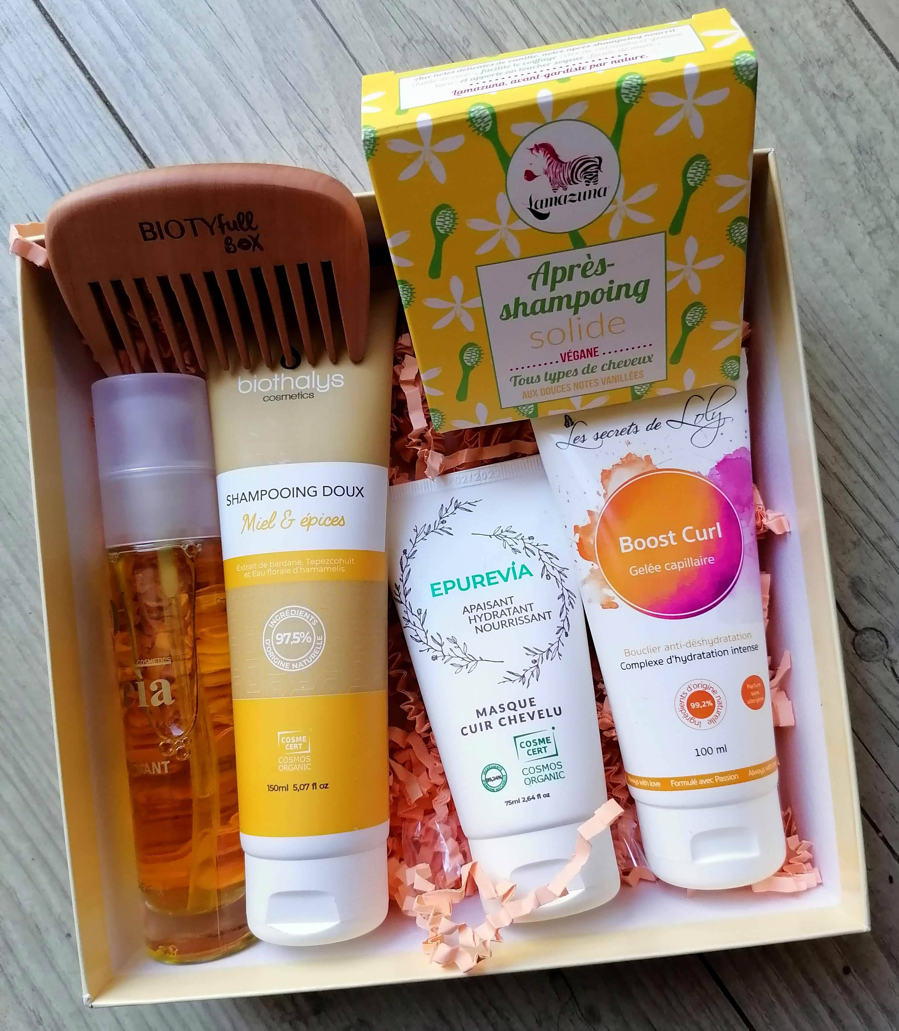BIOTYFULL BOX Avril 2020 : L'éblouissante 100% cheveux!