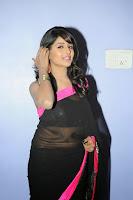 Isha Ranganath Glam Stills In Saree HeyAndhra