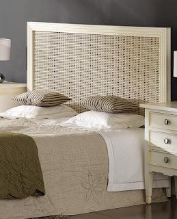Cabecero dormitorio blanco