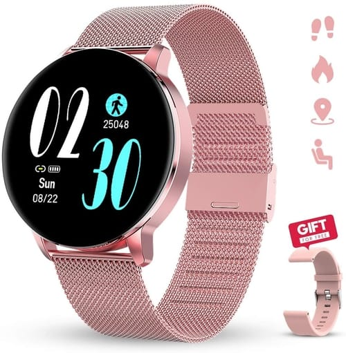 Review GOKOO Smartwatch for Women with Camera