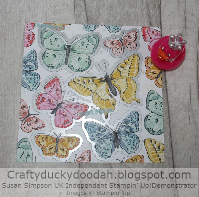 Craftyduckydoodah, Butterfly Bouquet, Stampin' Up, Crafty Collaborations,