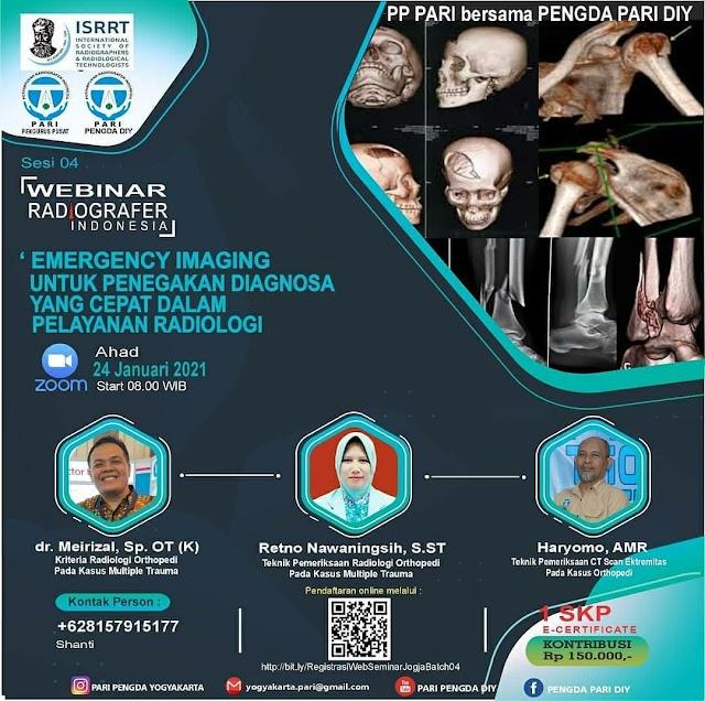 Emergency Imaging untuk Penegakan Diagnosa yang Cepat dalam Pelayanan Radiologi