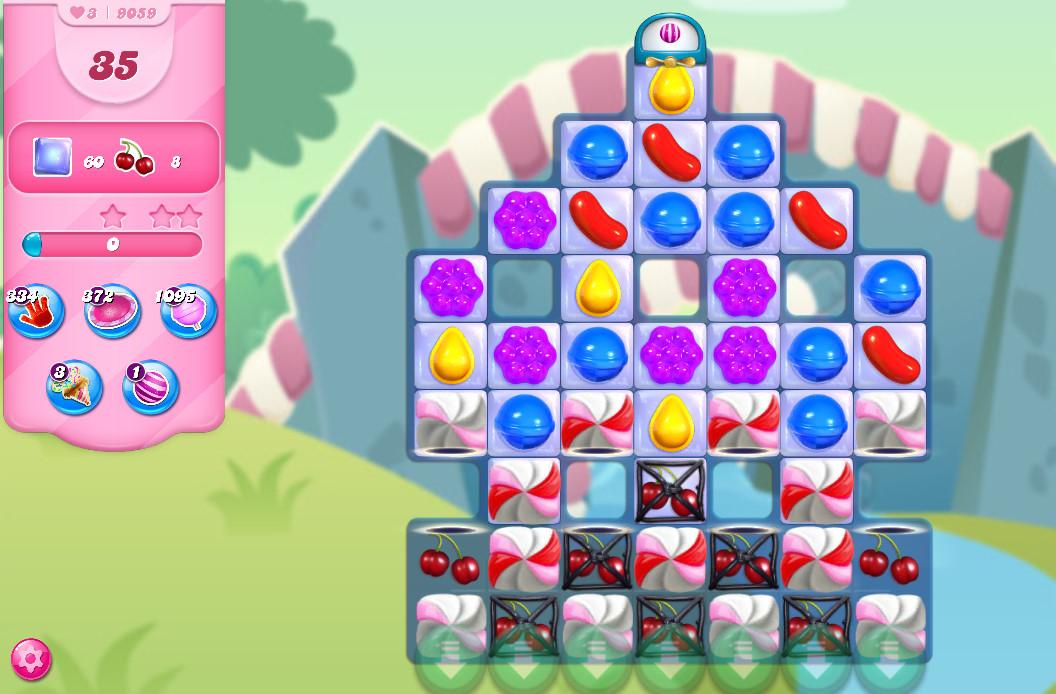 Candy Crush Saga level 9059