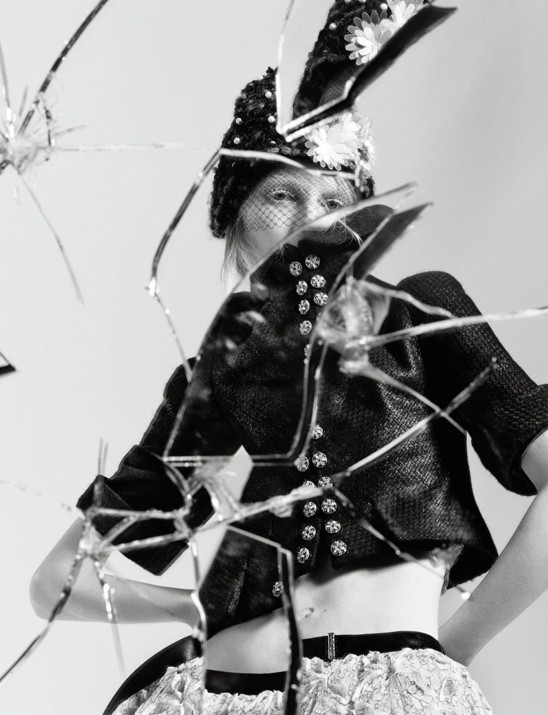 Broken Down Abandoned Stock Photos Broken Down Abandoned: Broken Down: Julia Nobis By Craig Mcdean For Interview