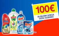 Logo Concorso ''Il ritorno del pulito 2019'' e con Bref, Pril e Nelsen vinci 70 buoni spesa da 100€