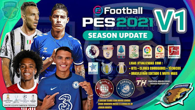 PES 2021 PS4 Compilation Option File by Emerson Pereira