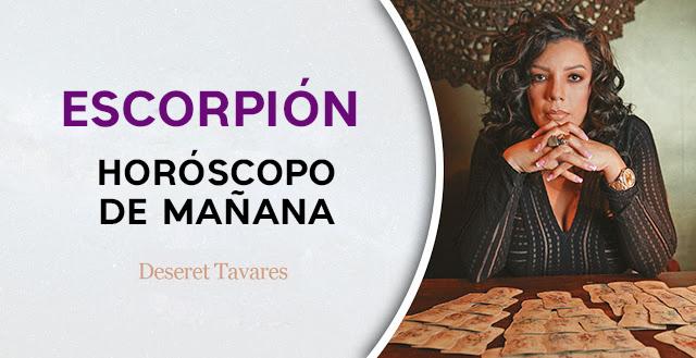 Horóscopo de mañana Martes 20 de Agosto - Escorpión