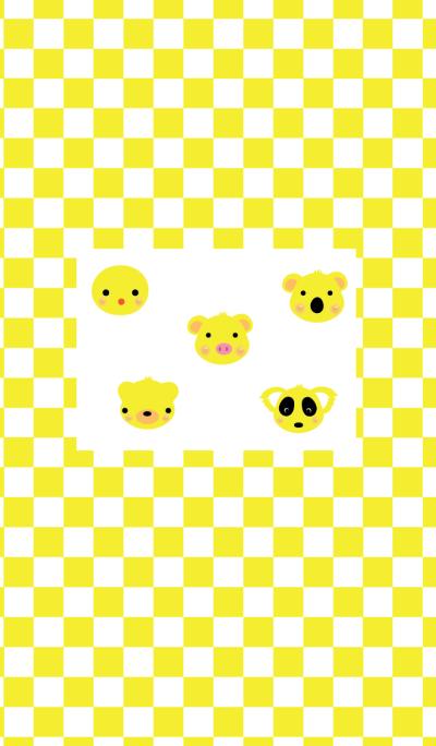 Yellow creatures theme