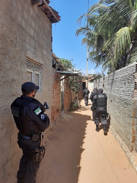 Com 158 prisões, forças de segurança pública realizam maior operação policial da história do RN