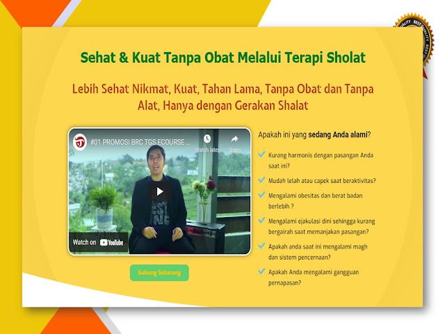 Belajar Terapi Gerakan Sholat untuk Kesehatan Alat Vital di Jakarta Pusat