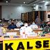 Kapolda Kalsel dan Forkopimda Ikuti Rakor Lintas Sektoral Pengamanan Hari Raya Idul Fitri 1442 H