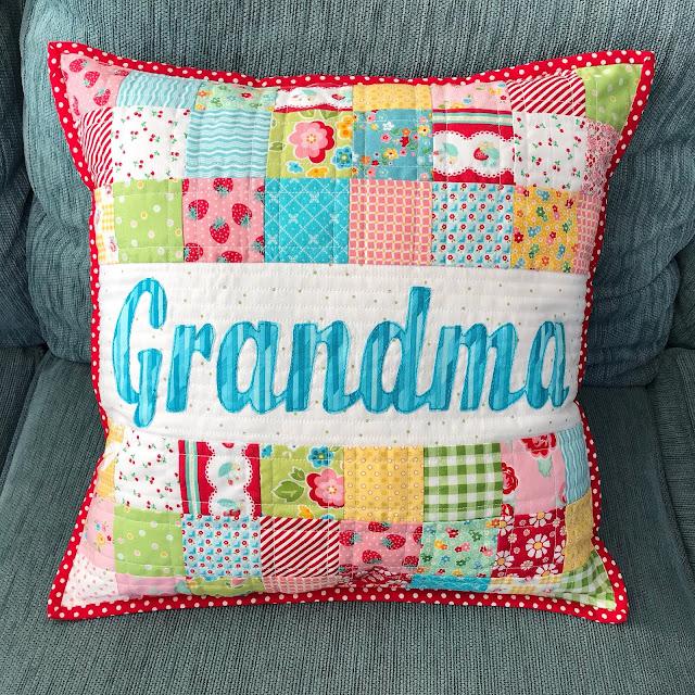 """Custom Cushion - Name Pillow """"Grandma"""" by Anorina Morris"""