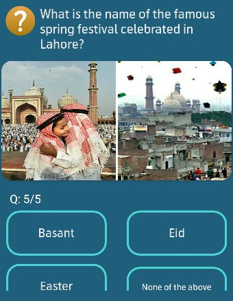 What is the name of the famous spring festival celebrated in Lahore?