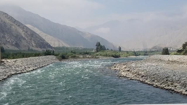 rio Lunahuana Peru rafting day trip