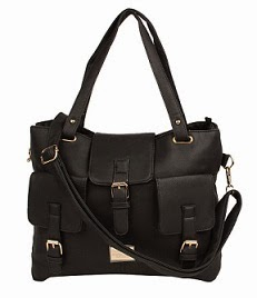 Cherokee Women's Handbag (Black) worth Rs.1199 for Rs.719 Only with 1 Yr Warranty@ Amazon (Valid till 10 PM Today)