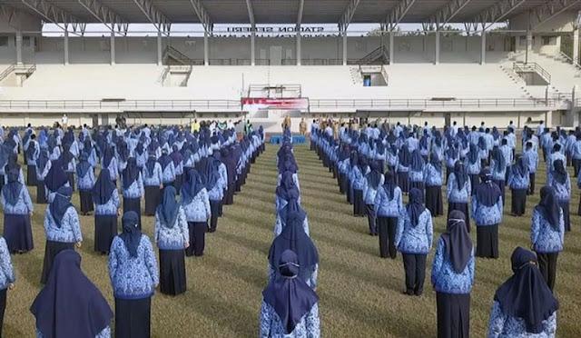Penyerahan SK PNS Lumajang