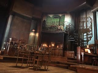 Hadestown Broadway Musical Set
