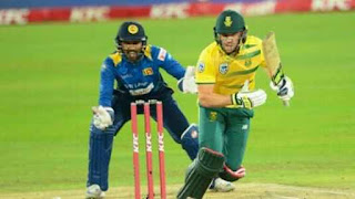 South Africa vs Sri Lanka 1st T20I 2017 Highlights
