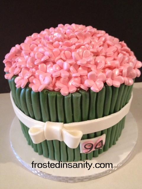 94th Birthday Flower Cake