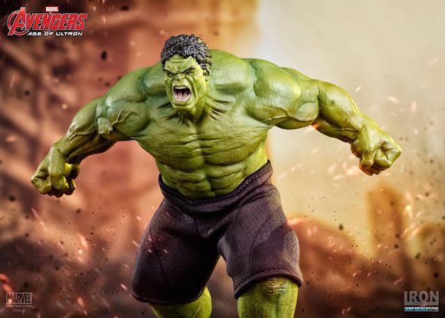Estátua Hulk Vingadores Ultron Iron Studios