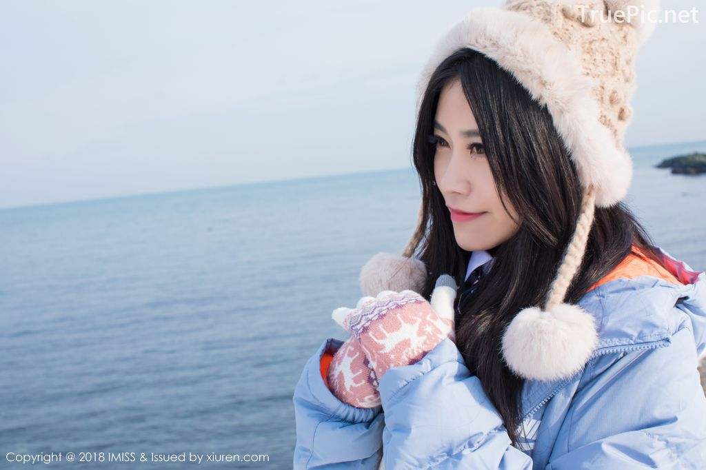 Image-IMISS-Vol.262-Sabrina model–Xu-Nuo-许诺-Sparkling-White-Snow-TruePic.net- Picture-6