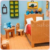 Tarta modelada habitación Van Gogh