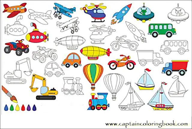 captaincoloringbook