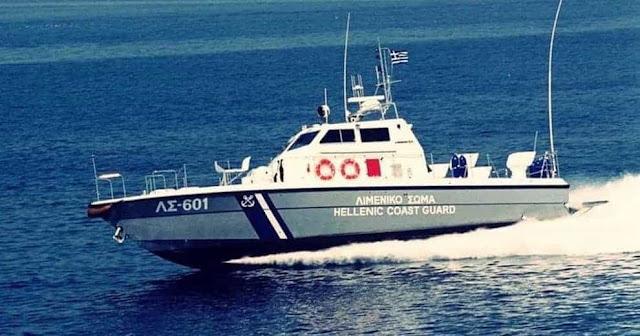 Ακυβερνησία ιστιοφόρου με 7 επιβάτες  νότια του Ακρωτηρίου Μαλέα