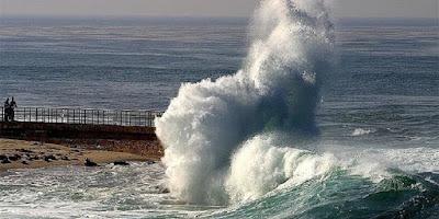 Maroc- Alerte Météo- Attention vagues dangereuses sur les côtes nord-ouest de l'Atlantique