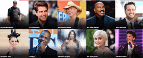 Top 50 highest paid celebrities